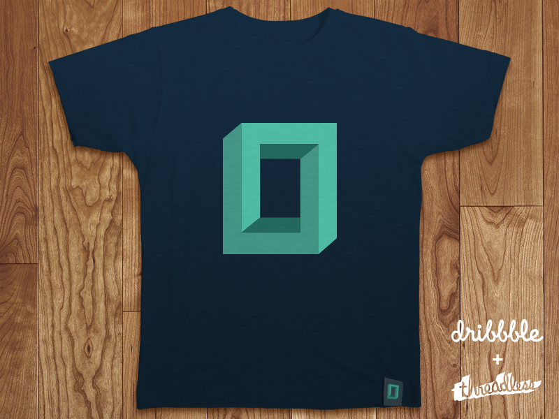 threadlesss dribbble template 800x6002 40 Incredible T Shirt Concepts for Inspiration