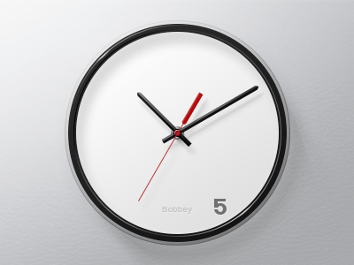 clock 20 Awesome Graphically Designed Clocks
