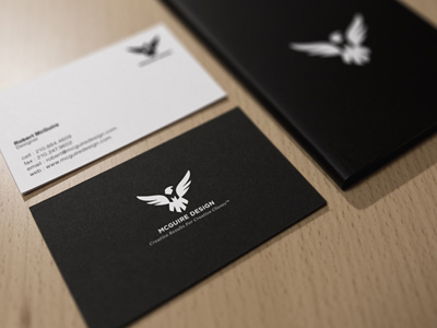 shot 1290106960 15 Sleek Examples of Black Business Cards