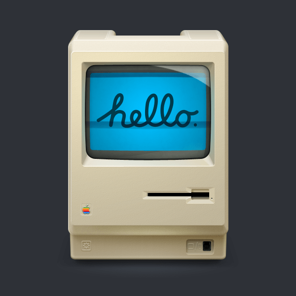 Hello%20Mac%20512px 30 Stunningly Detailed Mac Icons