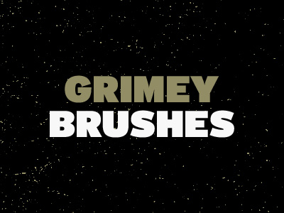 grimey 12 Beautiful Free Grunge Brush Sets from Dribbble