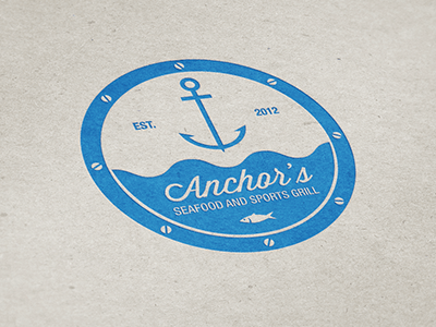 anchor s logo 3 16 Beautiful Examples of Anchor Logos