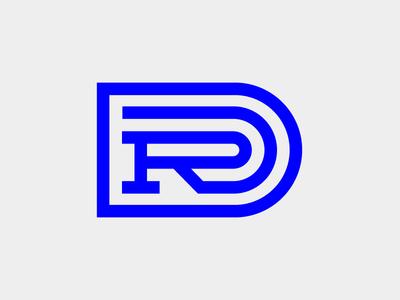 DR Monogram Monograms, Logos and Logo branding - invoice logo