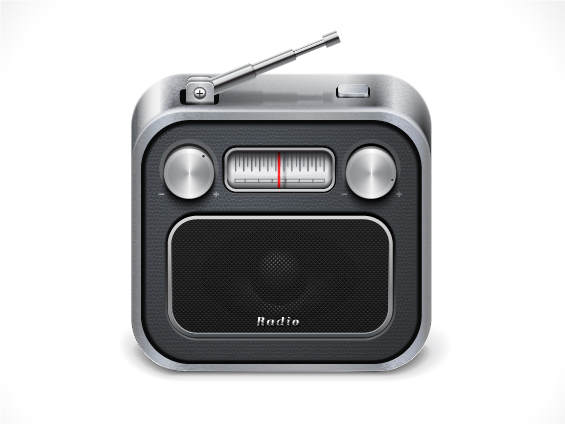 radio%20icon 20 Beautiful Icon Designs | Inspiration