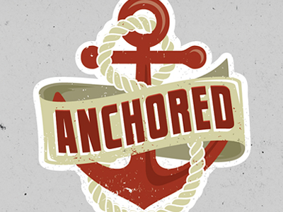 anchored 400x300 16 Beautiful Examples of Anchor Logos