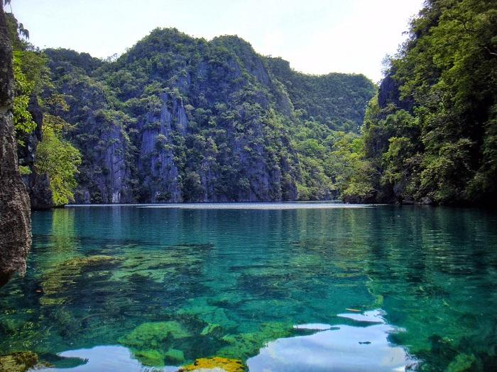 Kayangan Lake in Coron, Palawan (Philippines)