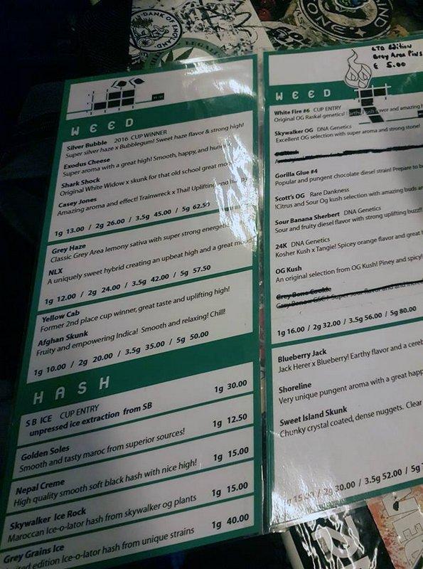 Ultimate Guide to Amsterdam Coffeeshops (+ List + Menu) \u2013 Best