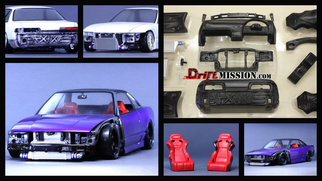Rc Drift Cars Wallpaper Pandora Rc Nissan Silvia S13 Body Parts Driftmission Your