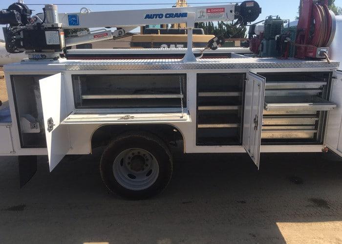 2012 F550 Crew Cab Service-Crane Truck 9356 - DER