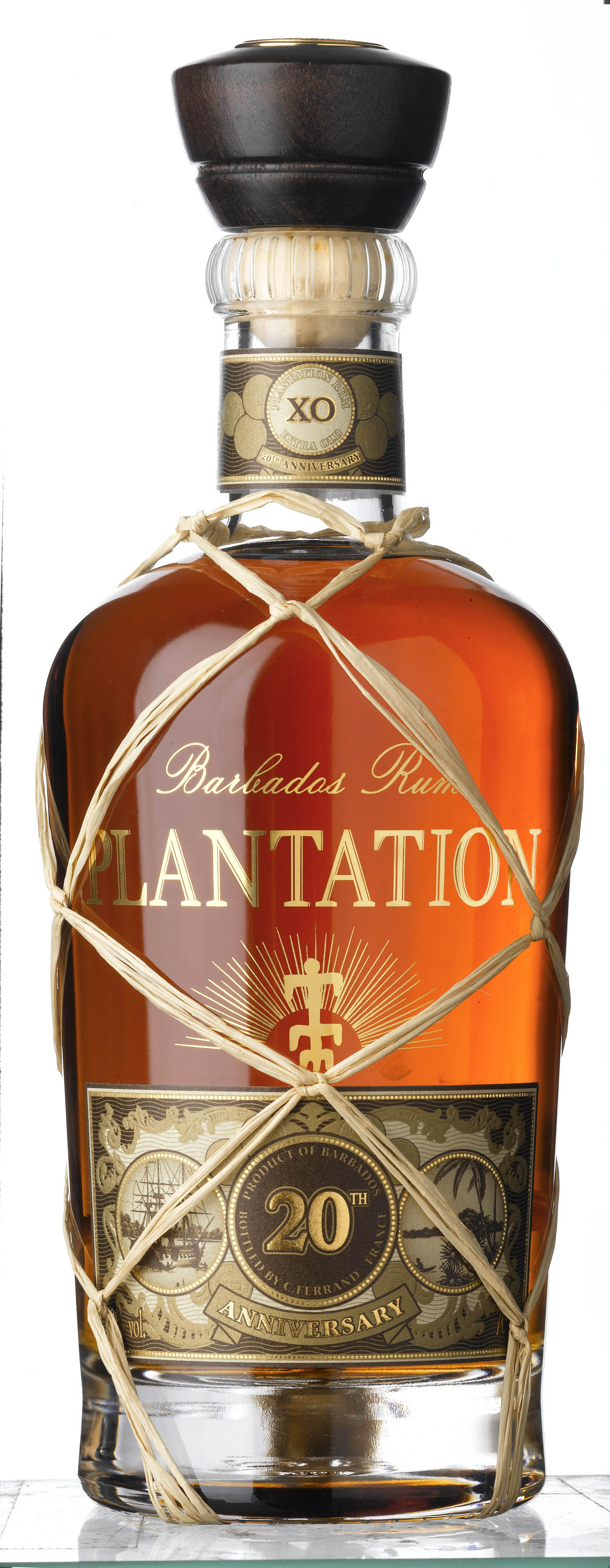 Plantation Barbados Extra Old 20th Anniversary Rum Review Plantation Rum Lineup 2015 3 Stars White