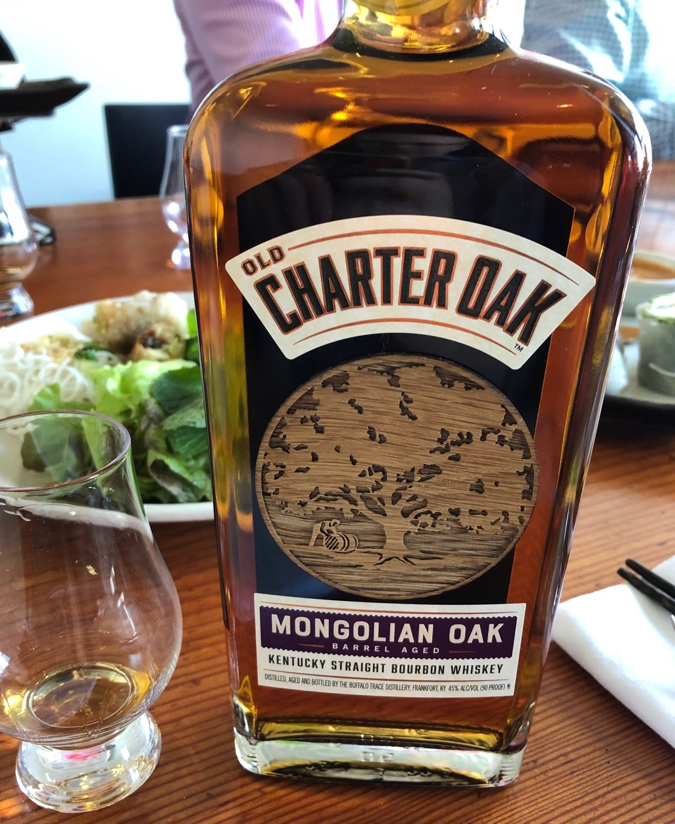 Vol Charter Review Old Charter Oak Mongolian Oak Drinkhacker