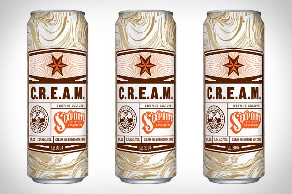 THE SIXPOINT CREAM BEER