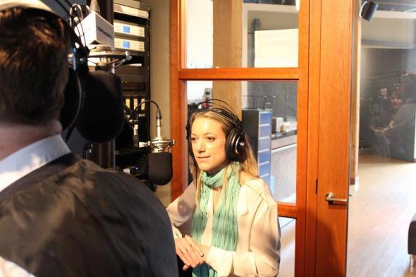 Zoie Palmer at Ward & Al interview