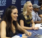 Anna Silk and Rachel Skarsten at Fan Expo 2013