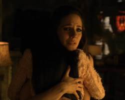 Bo and Kenzi hugging in Adventures in Fae-bysitting