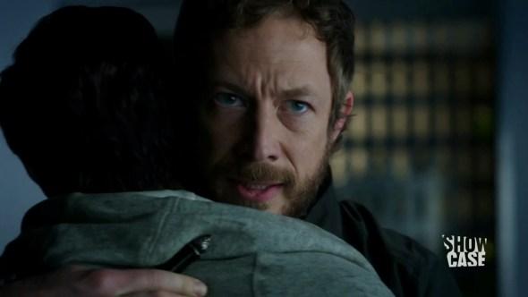 Dyson hugging Mark in When God Opens a Window