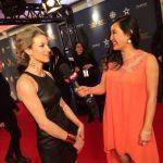 Zoie Palmer at Canadian Screen Awards 2014 (Source: etalk)