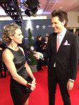 Zoie Palmer at the Canadian Screen Awards 2014 (Source: ET Canada)