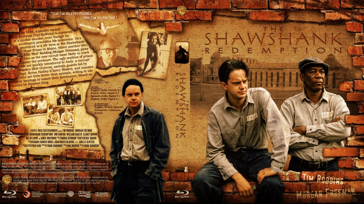 The Shawshank Redemption: The epitome of hope, patience and time