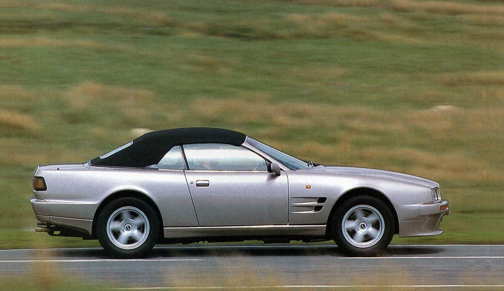 1993 Aston Martin Virage Volante vs Jaguar XJS V12 Convertible and