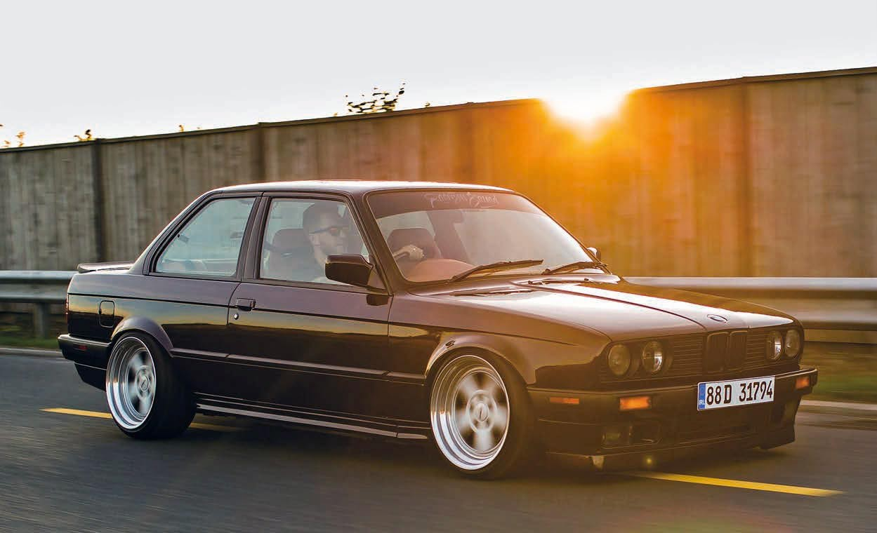 Retro Car Home Wallpaper Purple Reign Fully Custom Bmw E30 Coupe M52 Engined