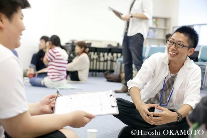 通信制高校の生徒のためのキャリア教育プログラム「クレッシェンド」の様子(NPO法人D×P)