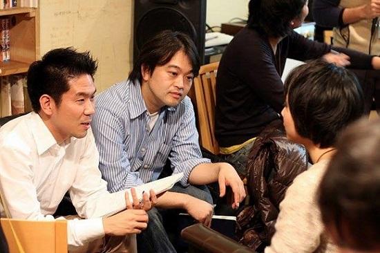 SVP東京での岡本拓也さんと、ファウンダーの井上英之さん