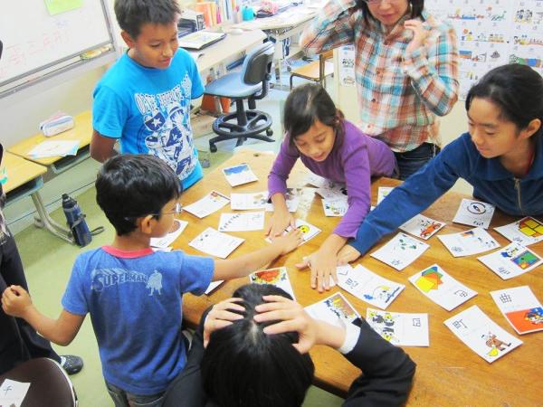 日本語教室の様子