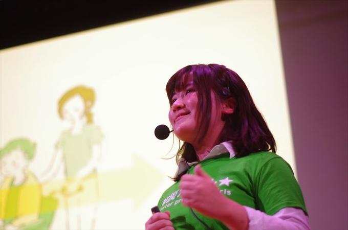 防災ガール 田中美咲さん