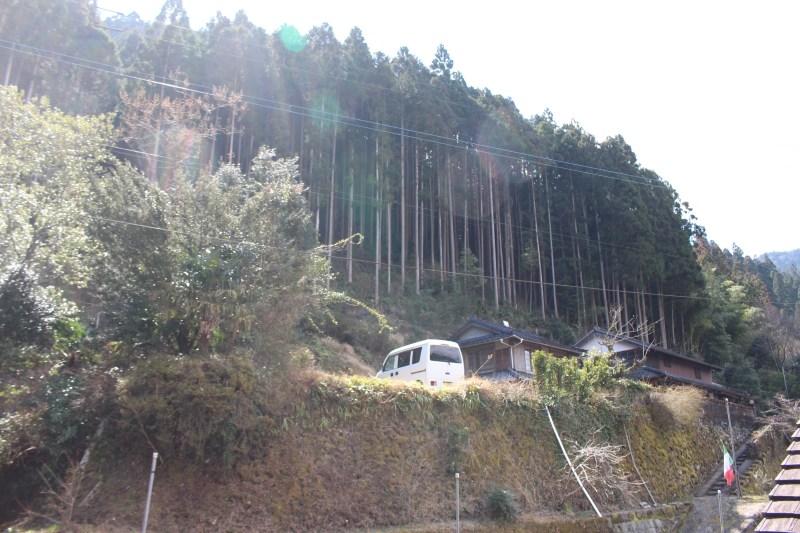 山の中腹にある古民家が、ペルトナーレ