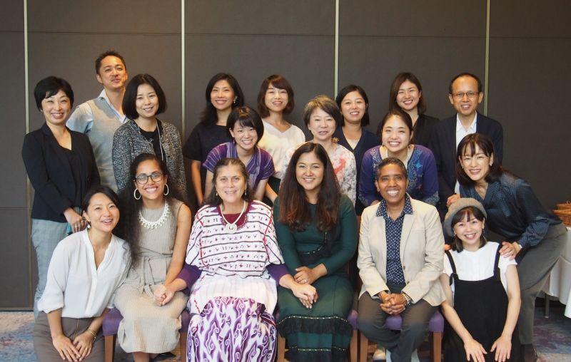 参加した日本の女性リーダーたちとインパクトヒーローたち