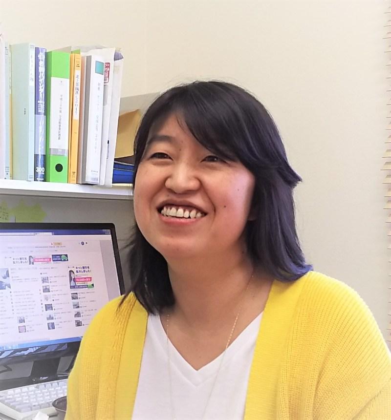 WAO北上の代表理事、佐藤尚美さんは、大学生から中学生まで、3人の子どものお母さん。