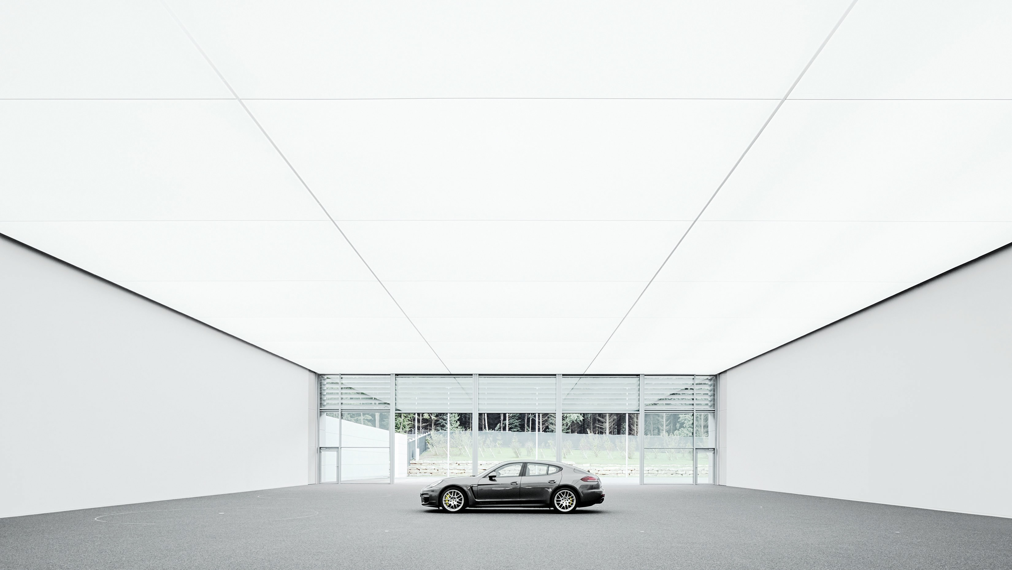 Design Studio Stuttgart Porsches Room With A View Driveeuropenews