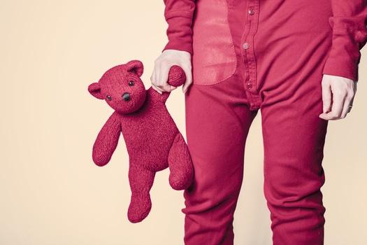 red-bear-child-childhood-medium