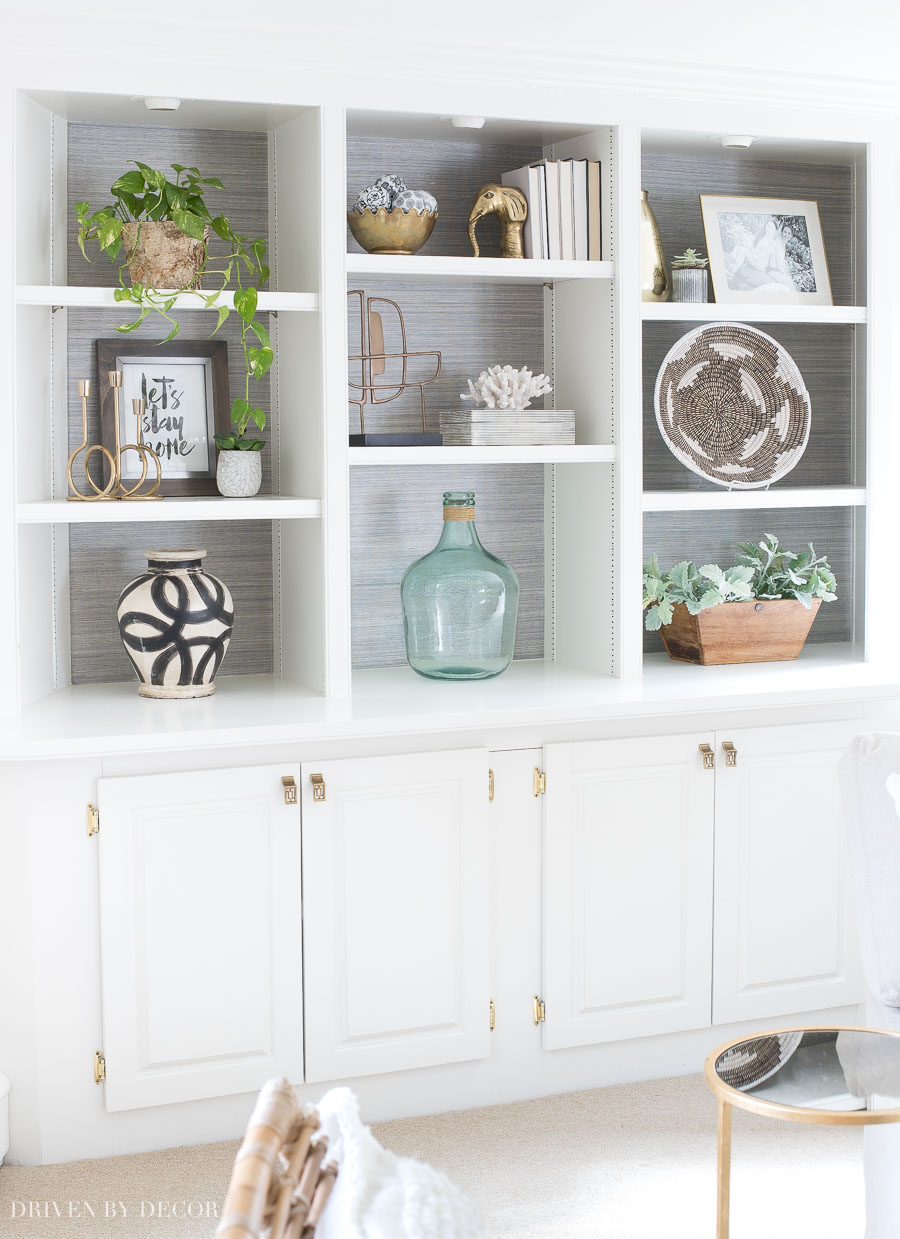 How To Decorate Shelves Bookcases Simple Formulas That Work Driven By Decor