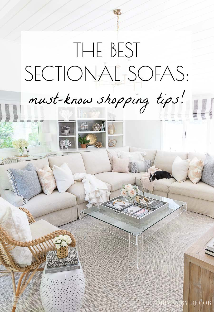 The Best Sectional Sofa Shopping Tips Driven By Decor