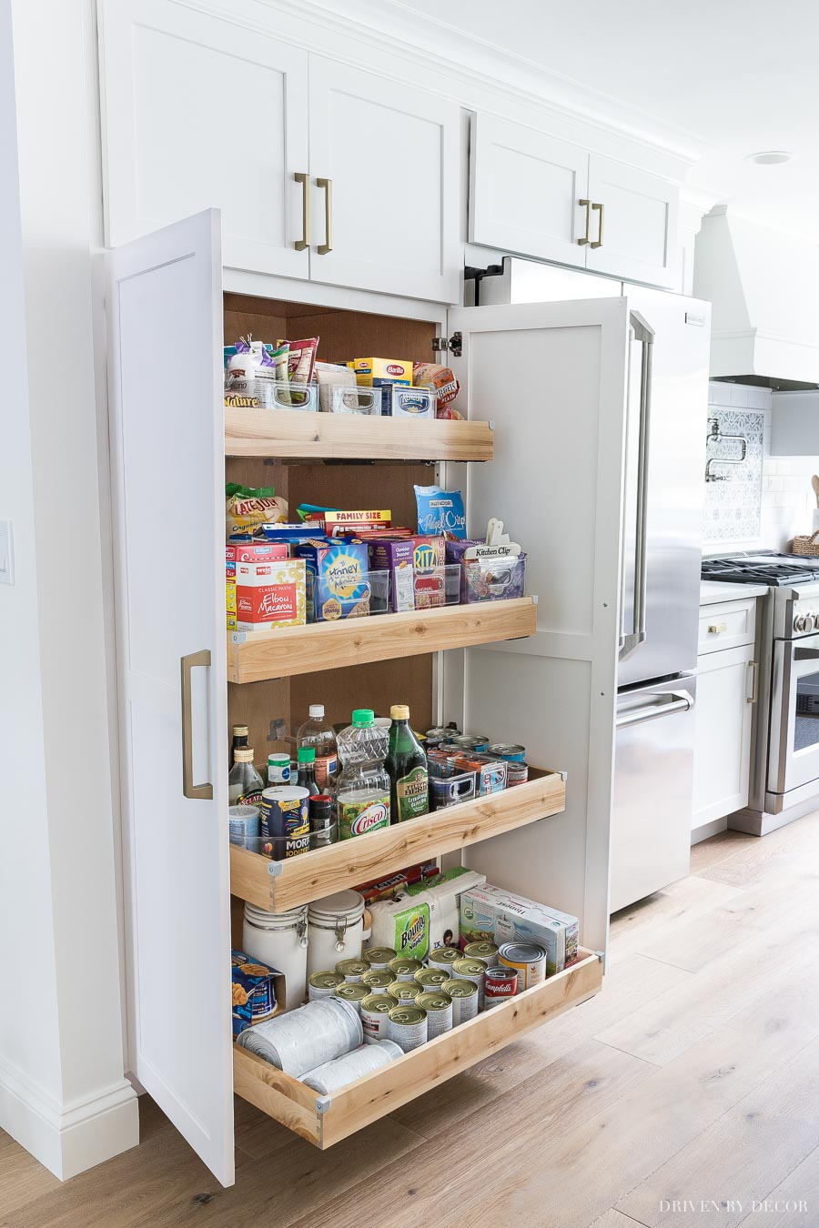 Kitchen Cabinets With Pull Out Shelves Cabinet Storage Organization Ideas From Our New Kitchen
