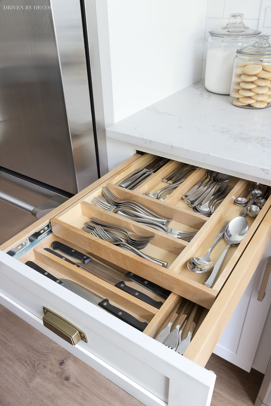 Kitchen Cabinet Drawers Cabinet Storage Organization Ideas From Our New Kitchen