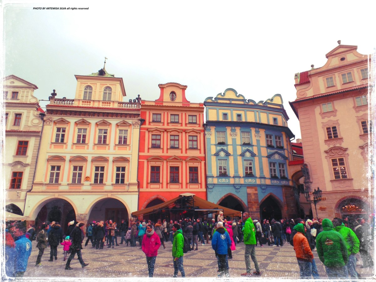 Prague in colours