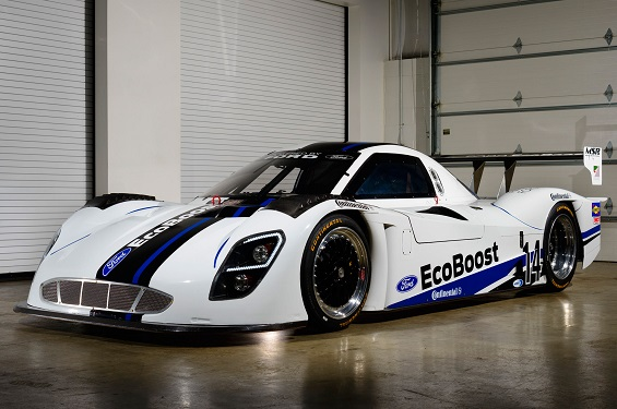 Ford Daytona prototype car with EcoBoost
