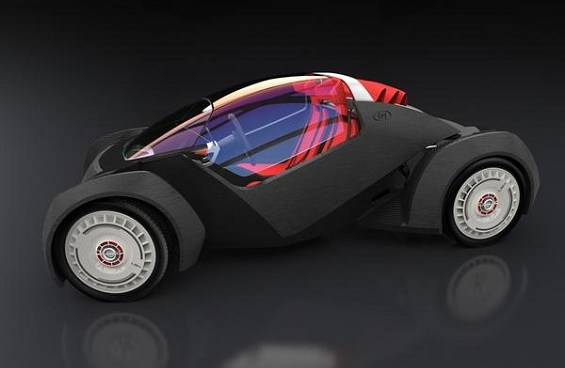 Local Motors is building a vehicle using a 3D printer