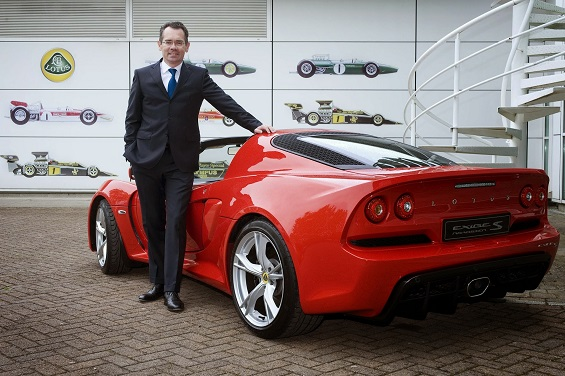 New Lotus CEO details his plans for how to save the brand