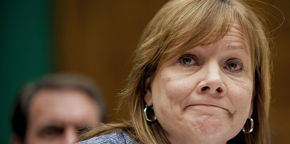 GM CEO Mary Barra won't receive women's award due to protests