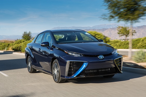 Toyota's Mirai sedan could help kickstart the hydrogen revolution in the US