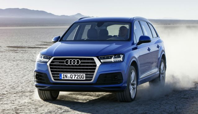 The Audi Q7 is a vehicle designed specifically for audiophiles