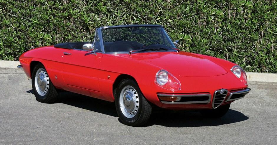 1966 Alfa Romeo Giulia Duetto Spider