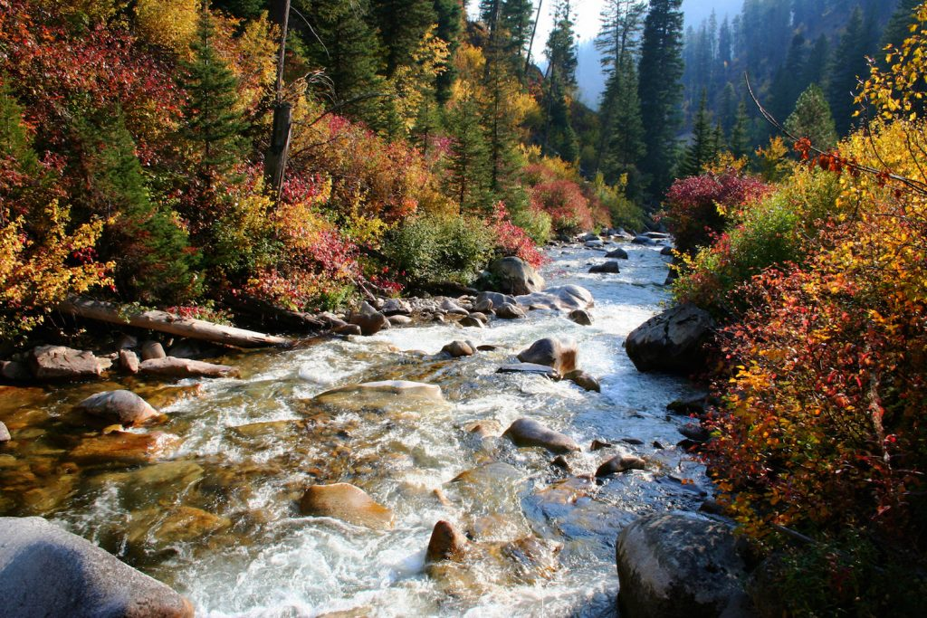Fall Smoky Mountains Wallpaper Payette River Scenic Byway Drive The Nation