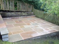 Indian Stone Patio - Driveways Huddersfield