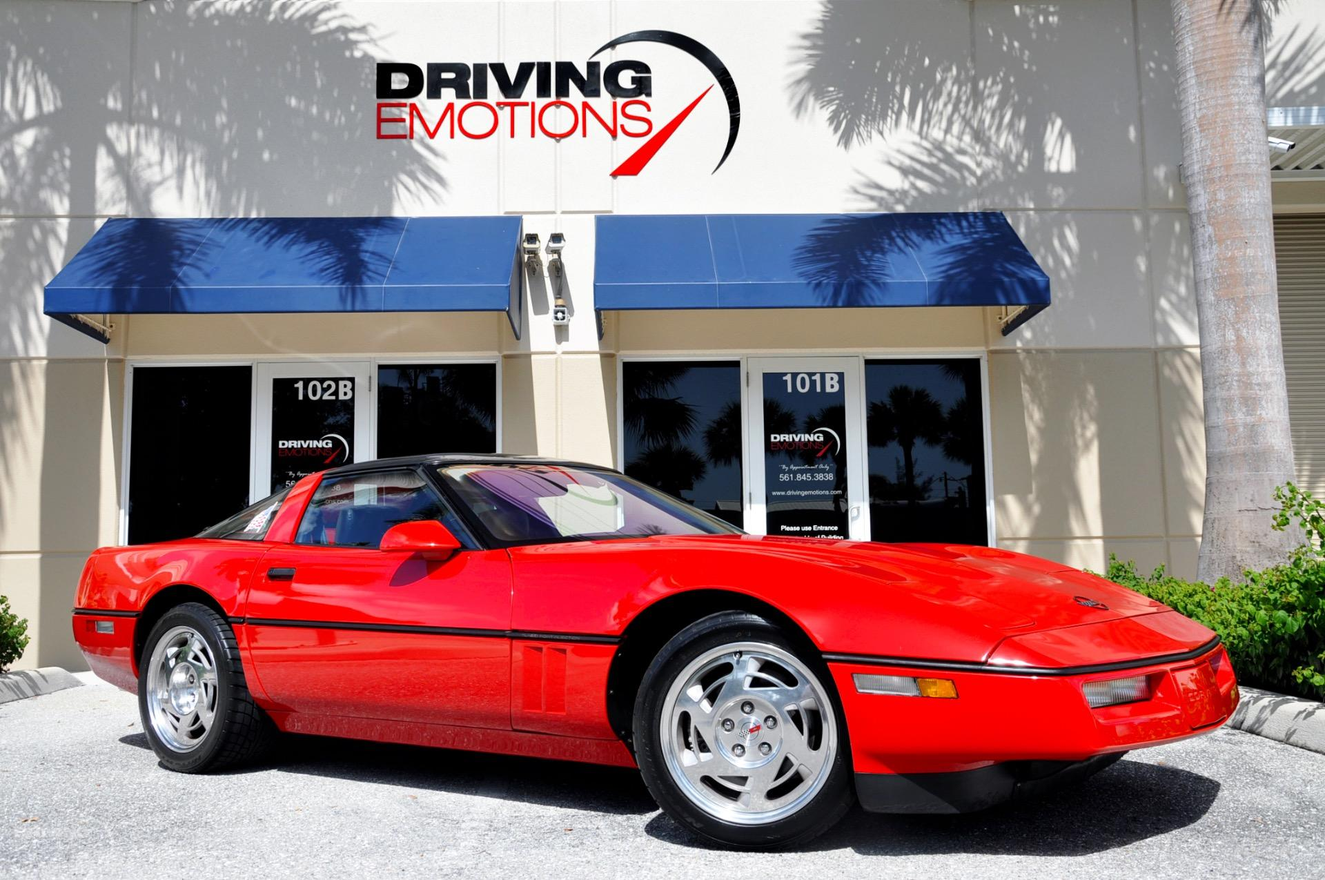 1990 Chevrolet Corvette Zr1 1990 Chevrolet Corvette Zr1 Zr1 Stock 6058 For Sale Near Lake