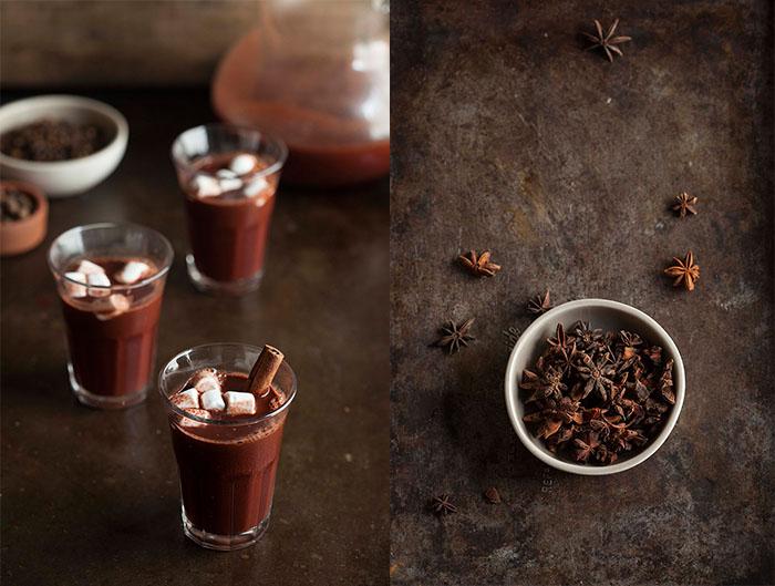 dark chocolate gluwein